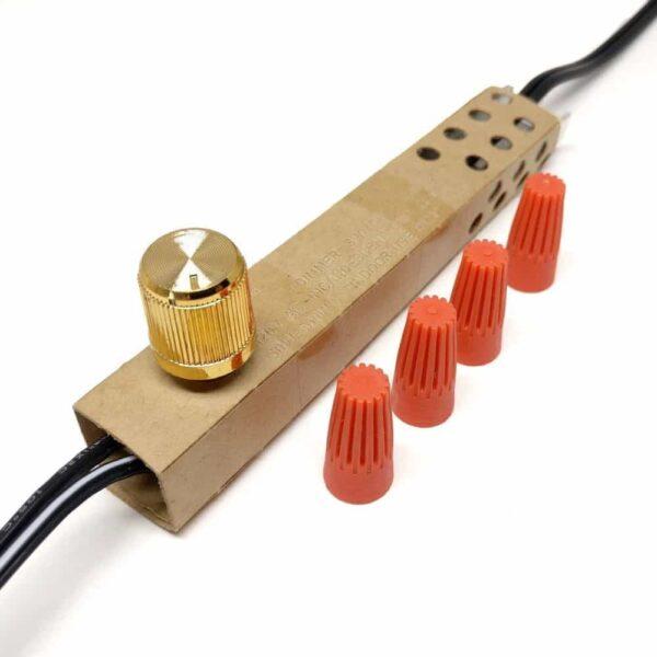 lamp dimmer switch zing ear ze-02 (antique brass)