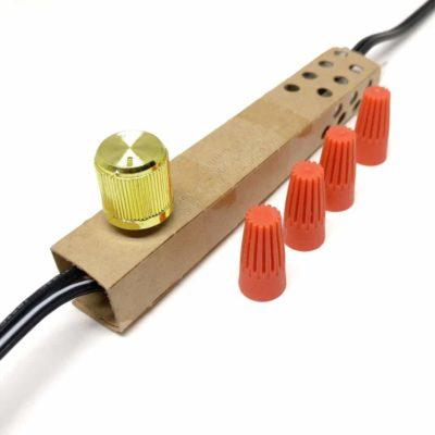 lamp dimmer switch zing ear ze-02 (brass)