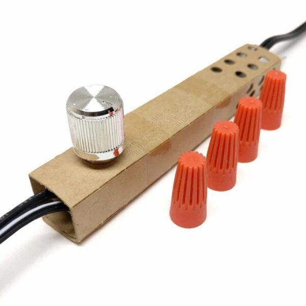 lamp dimmer switch zing ear ze-02 (nickel)