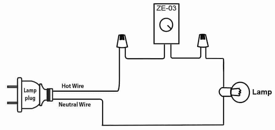 Zing Ear ZE-03 Wiring Instructions | CeilingFanSwitch