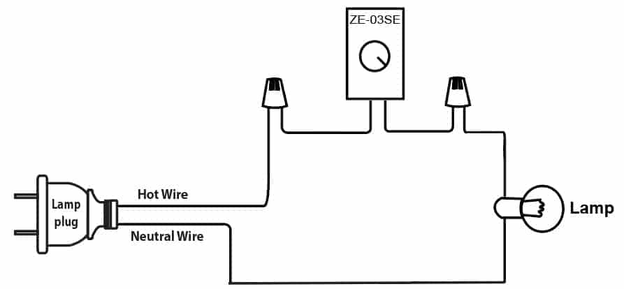 zing ear ze-03SE wiring diagram on lamp