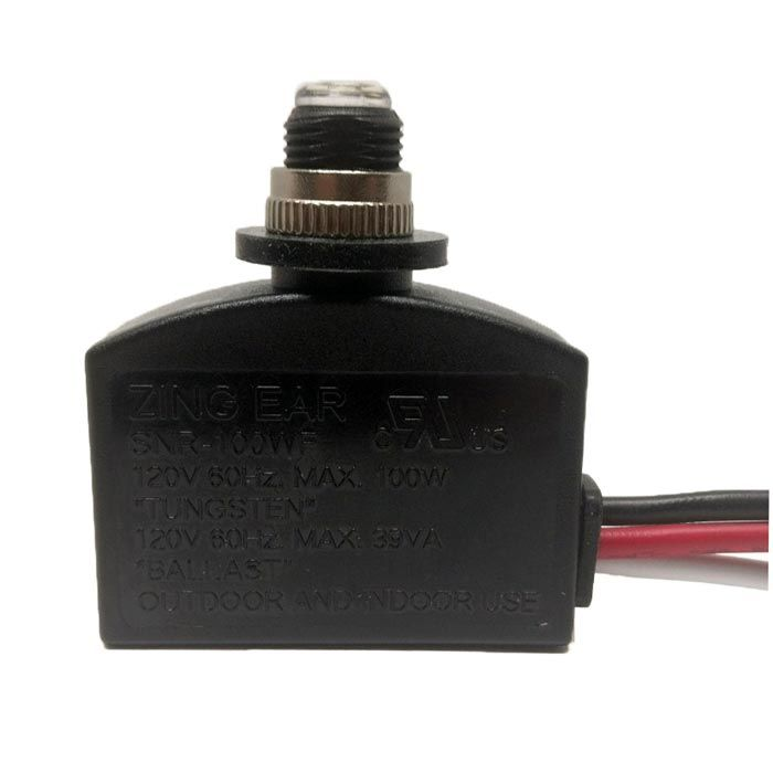Snr 100wf Photocell Light Sensor Switch Ceilingfanswitch Com