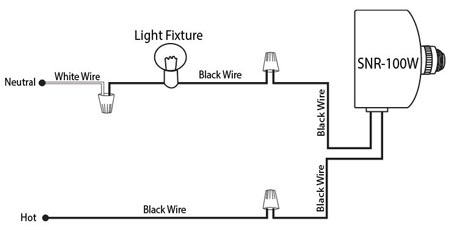snr 100w photocell wiring diagram. Black Bedroom Furniture Sets. Home Design Ideas