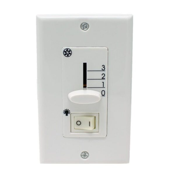 mw-201 ceiling fan wall control with on off light switch