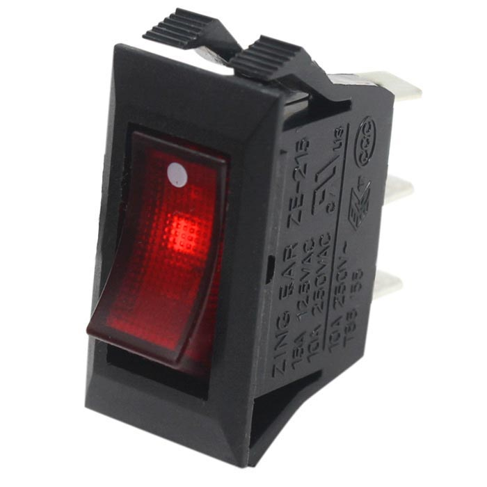Zing Ear ZE-215 Lighted Rocker Switch ON