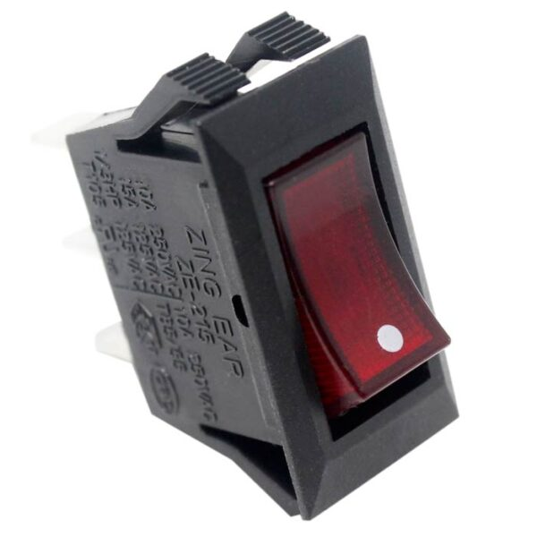 Zing Ear ZE-215 Lighted Rocker Switch Side View