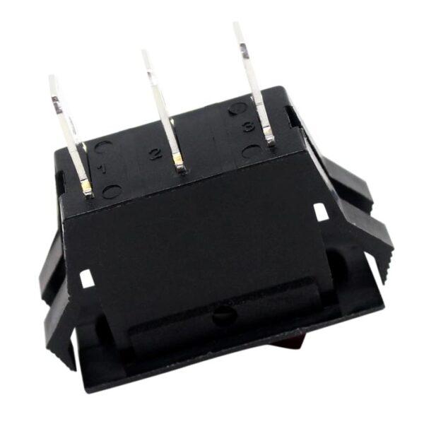 Zing Ear ZE-215 Lighted Rocker Switch Bottom Side View