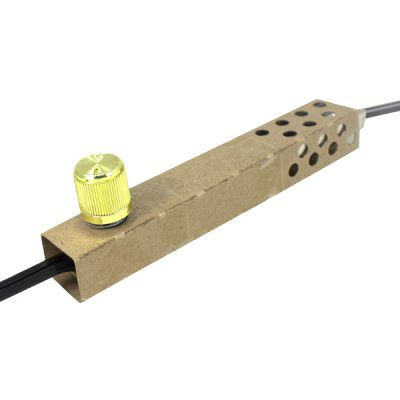 Zing Ear ZE-02 Dimmer Switch with Brass Knob