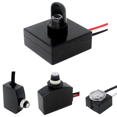 Photocell light switches