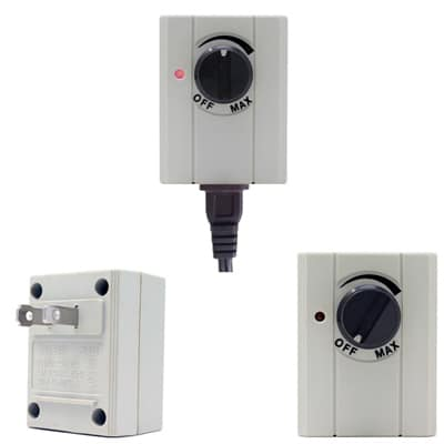 Plug-in lamp dimmer switches