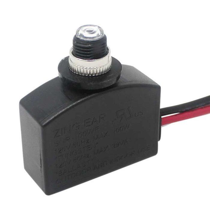 SNR-100WF photocell light sensor wiring instructions