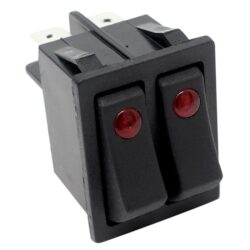 Zing Ear ZE-235-2 Rocker Switch for electric space heaters (illuminated)