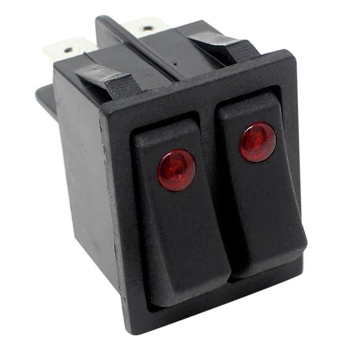 Zing Ear Ze 235 2 Illuminated Rocker Switch 6 Pins Dpst
