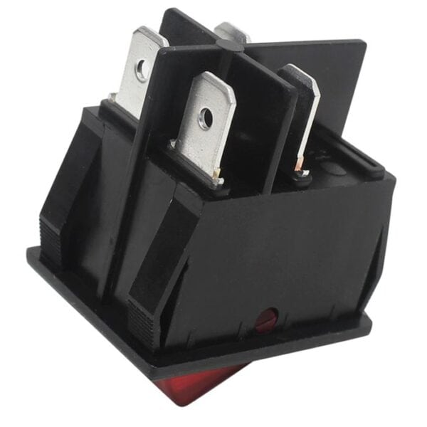 Zing Ear ZE-235-2L rocker switch side view