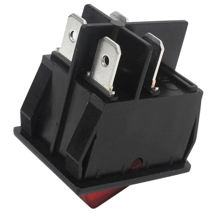 Zing Ear ZE-235-2L Illuminated Rocker Switch 4 Pins DPST ...