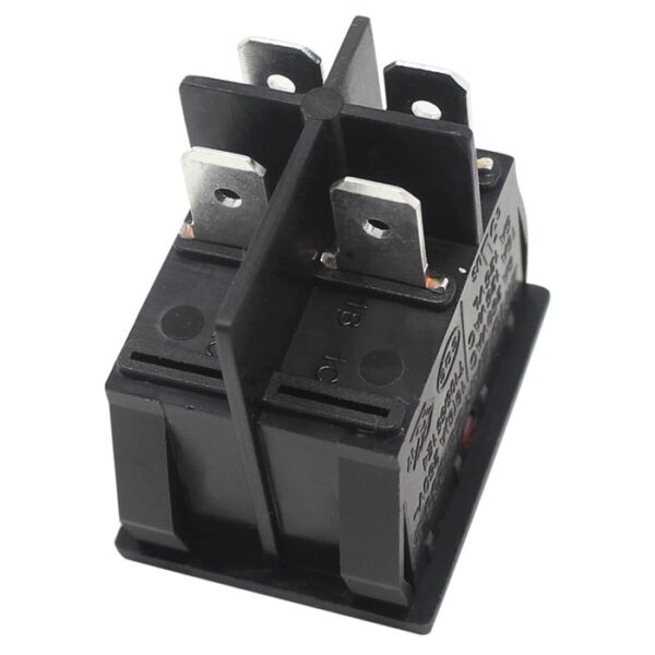 Zing Ear ZE-235-2L rocker switch 4 prong
