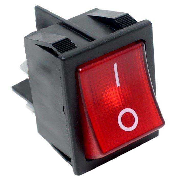 Zing Ear Ze 235 2l Illuminated Rocker Switch 4 Pins Dpst
