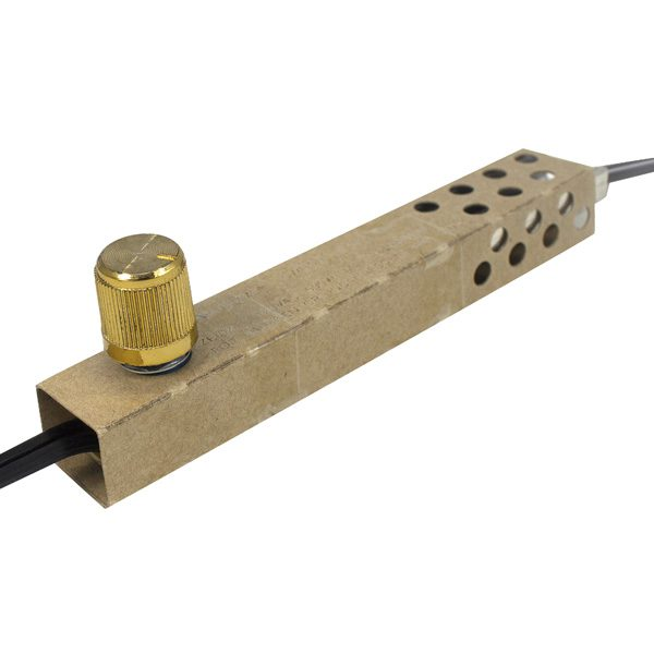 Zing Ear ZE-02 Dimmer Switch with Antique Gold knob