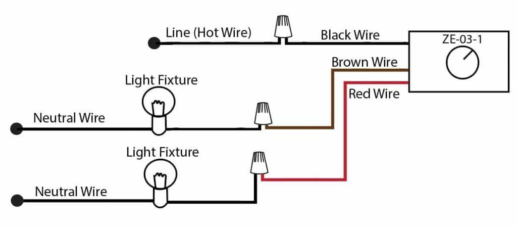 Zing Ear ZE-03-1 Wiring Diagram