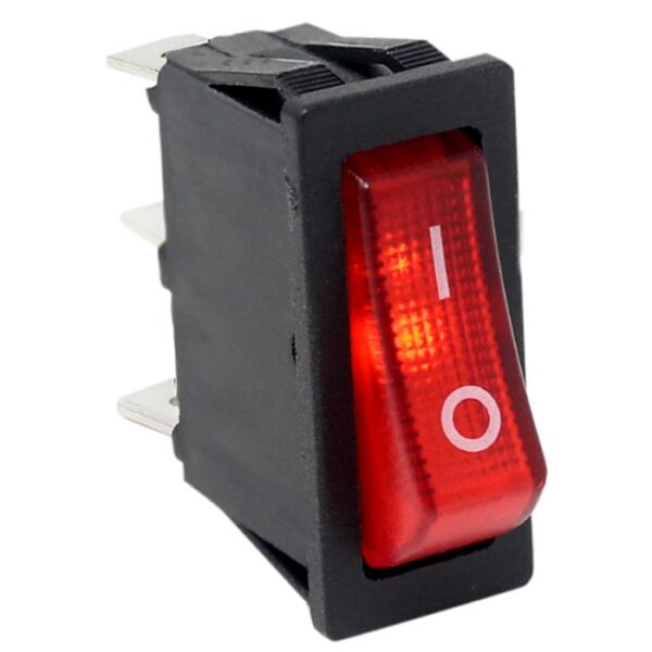 Zing Ear ZE-235L Illuminated with Red Neon Light