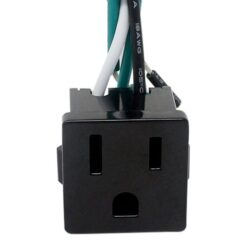Zing Ear ZE-3b-2 (Black) With 3 Wires