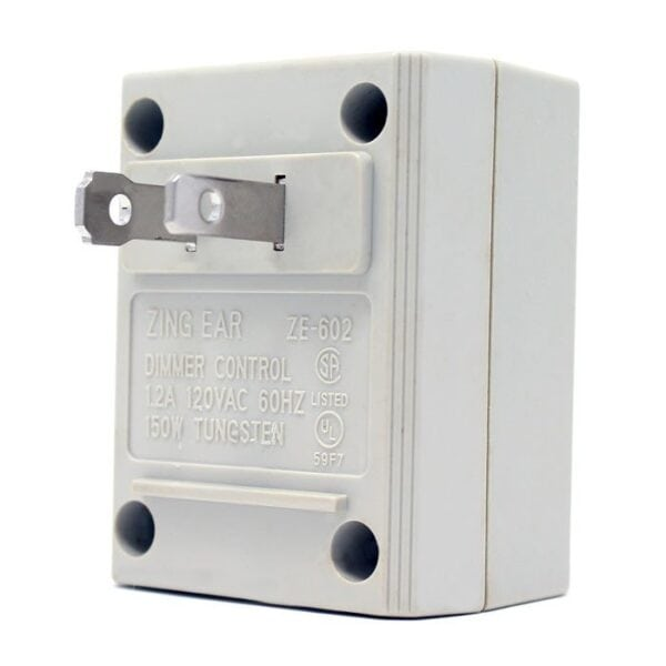 zing ear ze-602 plug in dimmer switch 2 prong